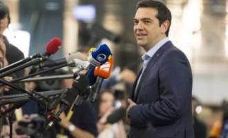 Στις Βρυξέλλες για τη Σύνοδο του Ευρωπαϊκού Συμβουλίου ο Τσίπρας