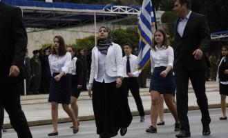 Η μαντίλα στην παρέλαση είναι η αποτυχία του εκπαιδευτικού μας συστήματος