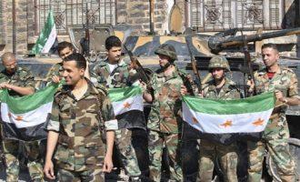 Σκοτώθηκε σε ενέδρα οπλαρχηγός του FSA που είχε συμφιλιωθεί με τη συριακή κυβέρνηση