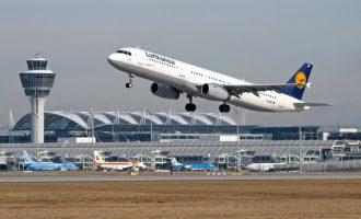 Κλειστά τα μεγάλα αεροδρόμια στη Γερμανία – Ακυρώνονται 900 πτήσεις της Lufthansa