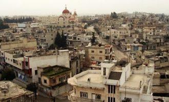 Η Αλ Κάιντα βομβάρδισε Ελληνορθόδοξη πόλη στη Συρία (βίντεο)