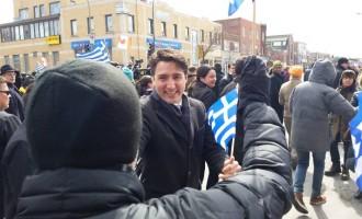 """Πρωθυπουργός Καναδά: """"Ζήτω η Ελλάς!"""""""