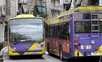 Χωρίς τρόλεϊ η Αθήνα την Τετάρτη – Ποιες ώρες δεν θα λειτουργήσουν
