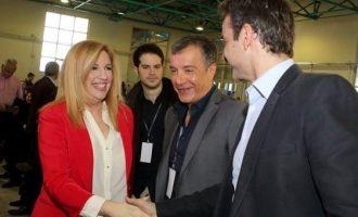 Γυρίζουν την πλάτη στον Κυριάκο για πρόωρες εκλογές Φώφη και Θεοδωράκης