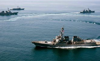 Τύμπανα πολέμου στη Νότια Σινική Θάλασσα – Οι ΗΠΑ επιχείρησαν σε ύφαλο
