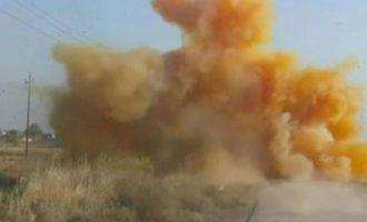 Το Στέιτ Ντιπάρτμεντ κατηγόρησε το καθεστώς Άσαντ ότι έριξε «χημικά» στη βορειοδυτική Συρία
