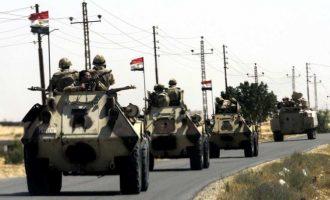 Ο αιγυπτιακός στρατός σκότωσε 38 τζιχαντιστές και αιχμαλώτισε 526 σε τέσσερις ημέρες