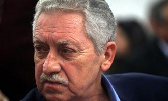 Φωτ. Κουβέλης: Θα πάρουμε αεροπλάνα και καράβια αλλά δεν θα μπούμε σε κούρσα εξοπλισμών