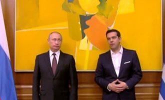 Ολάντ: Ο Πούτιν μου είπε ότι ο Τσίπρας ήθελε να τυπώσει δραχμές – Διαψεύδει το Μαξίμου