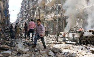 Έκκληση σε ΗΠΑ και Ρωσία για εκεχειρία στο Χαλέπι έκανε ο Μπαν Κι Μουν