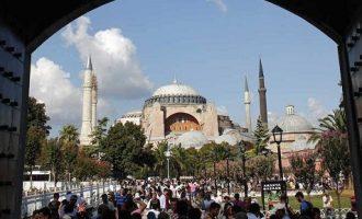 SZ για την Αγία Σοφία: Εάν γινόταν τζαμί θα ξεσπούσαν αντιδράσεις κατά της Τουρκίας