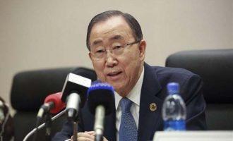 Ο Μπαν Κι Μουν καταγγέλει ακραίες πιέσεις από τη Σαουδική Αραβία