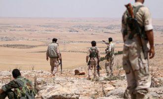 Οι Κούρδοι (SDF) ενισχύουν τις οχυρώσεις τους στη Μανμπίτζ απέναντι στην τουρκική απειλή