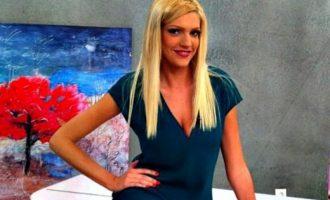 Η Σάσα Σταμάτη αποκάλυψε ότι τη χτύπησε συνεργάτης της σε τηλεοπτική εκπομπή