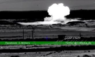 Σύροι στρατιώτες στήνουν ενέδρα σε ισλαμιστές και τους ανατινάζουν (βίντεο)