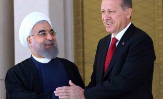 """Συμμάχησαν Ερντογάν και Ροχανί απέναντι στις """"προβοκατόρικες ενέργειες"""" των ΗΠΑ με την Ιερουσαλήμ"""