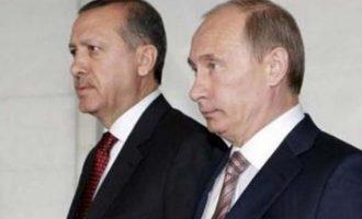 O Πούτιν έριξε «πόρτα» σε Ερντογάν για συνάντηση τον Μάρτιο
