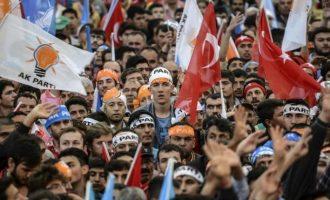 800.000 μέλη αποχώρησαν από το κόμμα του Ερντογάν τον τελευταίο χρόνο