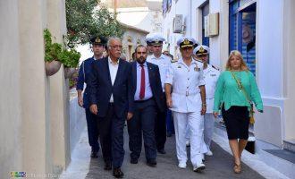 Με το Πολεμικό Ναυτικό στα Κύθηρα η Γεννιά για τον ναύαρχο Φιλοσοφώφ