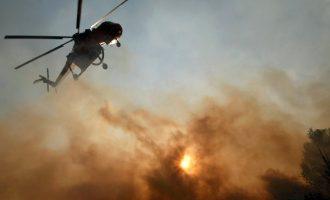Η Ελλάδα ζήτησε βοήθεια σε πυροσβεστικά αεροπλάνα από την Ευρωπαϊκή Ένωση