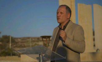 Ο Βλάσης Ρασσιάς για το αξιακό σύστημα του Ελληνισμού στον ναό του Δία στην Κύπρο (βίντεο)