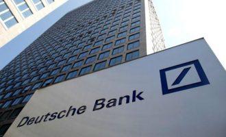 80 πρώην και νυν υπάλληλοι της Deutsche Bank είναι ύποπτοι για φορολογική απάτη