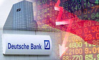 """Η """"πτώση"""" της Deutsche Bank προμηνύει το τέλος της Ευρωζώνης;"""