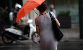 Βροχές σε όλη την Ελλάδα τη Δευτέρα!