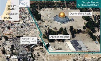 Το Ισραήλ αφαίρεσε τους ανιχνευτές από το Όρος του Ναού αλλά οι μουσουλμάνοι συνεχίζουν το μποϊκοτάζ