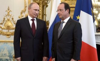 Ο Πούτιν διαψεύδει Ολάντ: Ποτέ ο Τσίπρας δεν ζήτησε να τυπώσει δραχμές στη Ρωσία