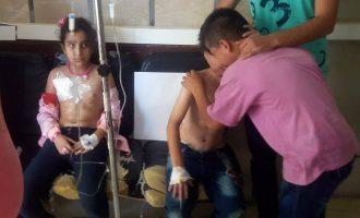 """Οι """"μετριοπαθείς"""" βομβάρδισαν σχολείο στη Ντεράα της Συρίας και σκότωσαν παιδιά"""