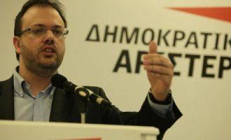 Η ΔΗΜΑΡ στηρίζει τη Συμφωνία των Πρεσπών – Ο Θεοχαρόπουλος ψηφίζει «ναι»