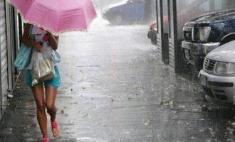 Καιρός: Δεκαπενταύγουστος με βροχές, καταιγίδες και χαλάζι (βίντεο)