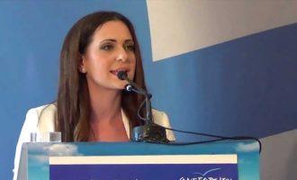 Επίθεση Μανταλένας Παπαδοπούλου σε «μεταλλαγμένο ΠΑΣΟΚ» και Άδωνι Γεωργιάδη