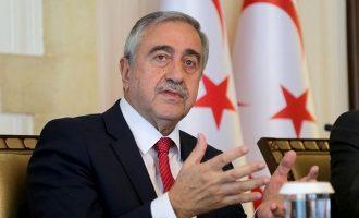 Ο κατοχικός ηγέτης Ακιντζί ζητά μερίδιο στην εξουσία και στον πλούτο της Κύπρου