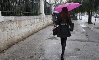 Ο καιρός το Σάββατο – Που προβλέπονται βροχές και καταιγίδες