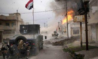 Το Ισλαμικό Κράτος ρίχνει βόμβες πάνω στους αμάχους στη Μοσούλη
