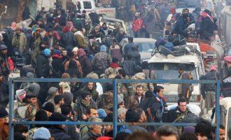 4.000 τζιχαντιστές εγκατέλειψαν τη νύχτα το Χαλέπι