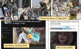 Οι διασώστες της Αλ Κάιντα έσωσαν το ίδιο παιδί τρεις φορές σε τρεις μήνες