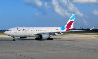 Φάρσα για βόμβα σε αεροσκάφος της Eurowings – Προσγειώθηκε στο Κουβέιτ