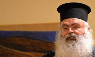 Μητροπολίτης Πάφου: Ο Αναστασιάδης αποδέχεται όρους για το Κυπριακό υπό την επήρεια αλκοόλ