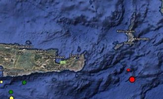 Σεισμός 4,6 Ρίχτερ  στην Κάρπαθο