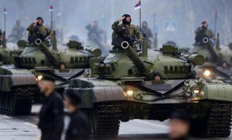 Η Σερβία εξέφρασε την ελπίδα να μην επιτεθεί στρατιωτικά στο Κόσοβο