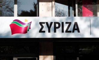 Ο ΣΥΡΙΖΑ κατηγορεί την κυβέρνηση για ανεπάρκεια και ξενοφοβική αντίληψη