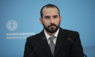 Τζανακόπουλος: Η Ευρώπη ενωμένη απέναντι στην τουρκική επιθετικότητα