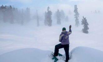 Κίνδυνος χιονοστιβάδων και σε ελληνικά βουνά μετά τις πρόσφατες χιονοπτώσεις