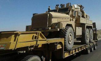 250 φορτηγά γεμάτα όπλα έστειλαν τον Δεκαπενταύγουστο οι ΗΠΑ στους Κούρδους της Συρίας