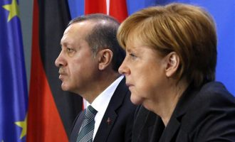 Μέρκελ και Ερντογάν συνομίλησαν για το προσφυγικό