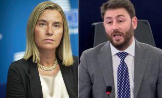 Ερώτηση Ανδρουλάκη στη Μογκερίνι: Πώς θα αντιδράσει η ΕΕ στις τουρκικές απειλές;