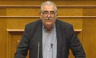 Νίκος Παπαδόπουλος:  Δεν κωλώνουμε που χτυπάνε το χέρι στο τραπέζι οι συνδικαλιστές του ΠΑΜΕ